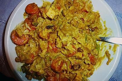 Curry - Gemüse mit Tofu 6