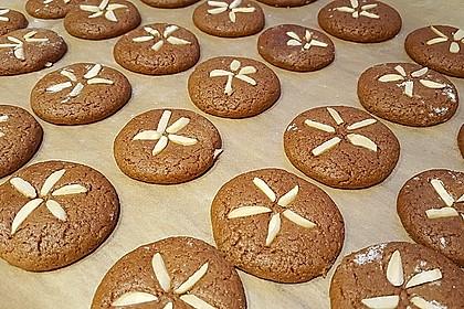 Pfefferkuchen - Plätzchen 1