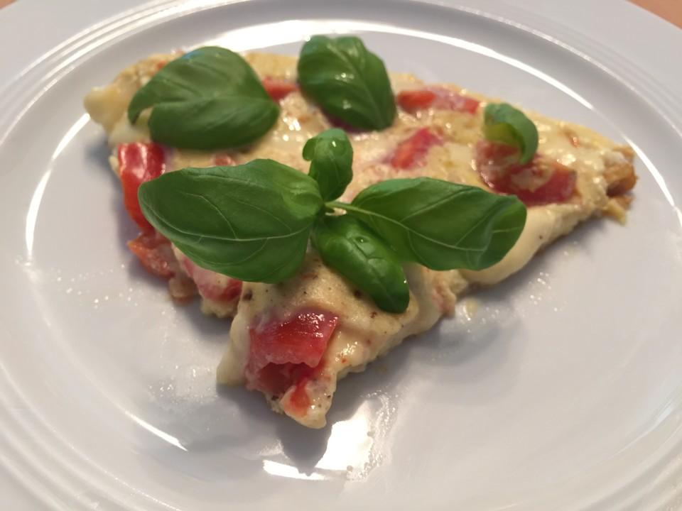 tomaten omlett mit mozzarella rezept mit bild von dasty. Black Bedroom Furniture Sets. Home Design Ideas