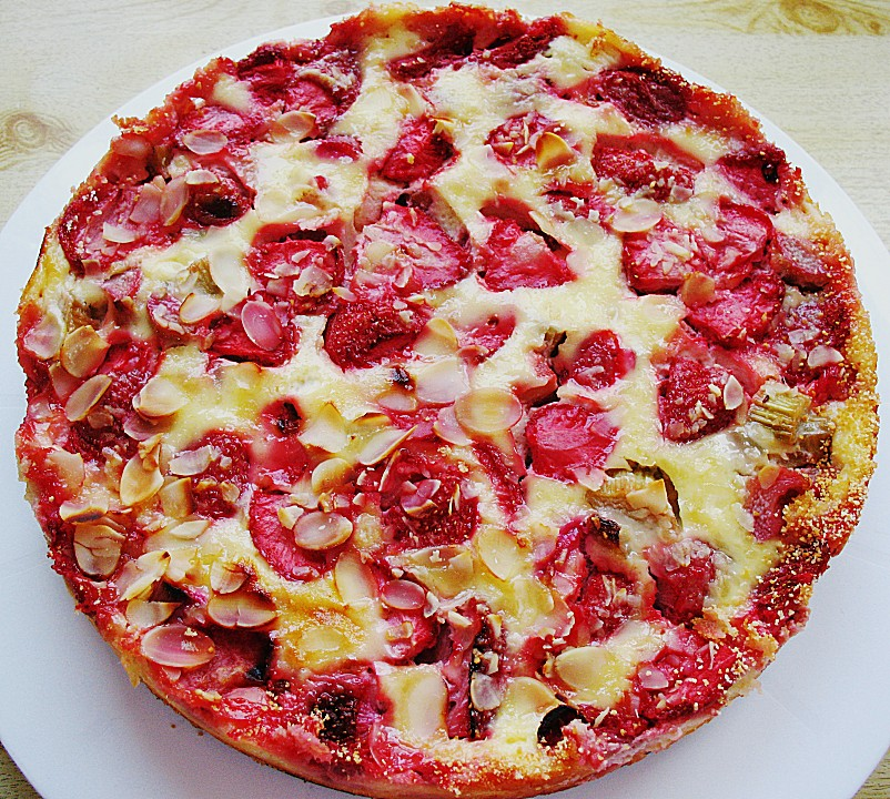 Erdbeer rababer kuchen