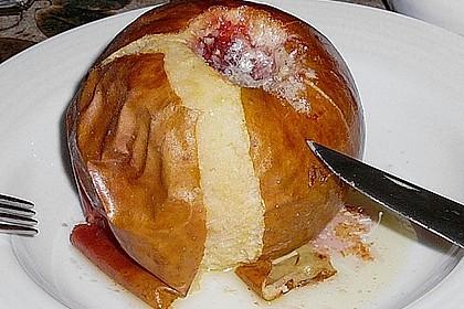 Bratäpfel mit Mandelsoße