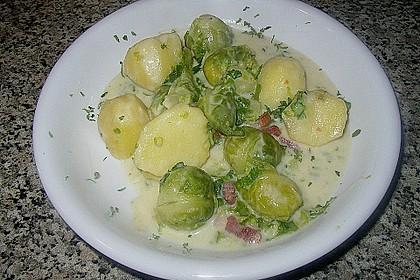 Rosenkohl - Kartoffel - Auflauf 6