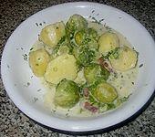 Rosenkohl - Kartoffel - Auflauf (Bild)