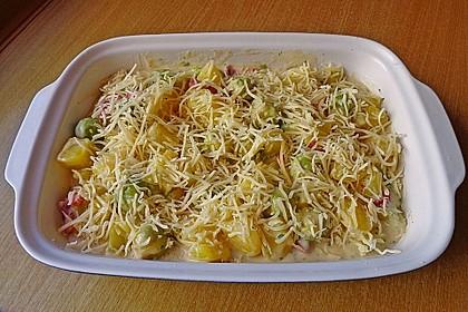 Rosenkohl - Kartoffel - Auflauf 8