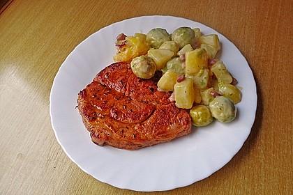 Rosenkohl - Kartoffel - Auflauf 2