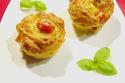 Tomaten - Mozzarella - Muffins 1