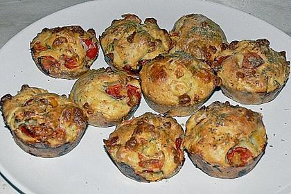 Tomaten - Mozzarella - Muffins 4