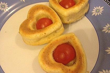 Tomaten - Mozzarella - Muffins