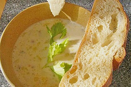 Käse-Lauchsuppe 9