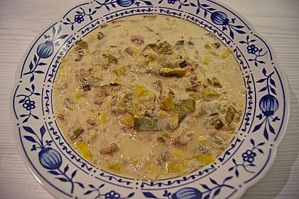 Käse-Lauchsuppe 5