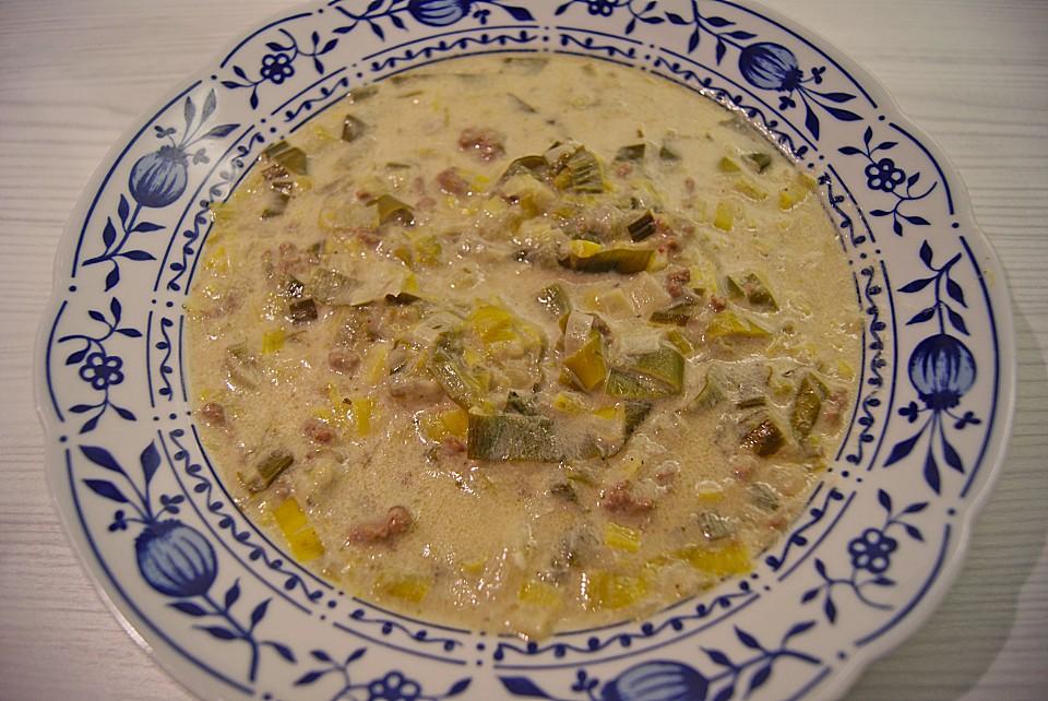 Käse-Lauchsuppe von Tinex | Chefkoch.de