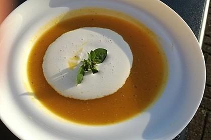 Fruchtige Kürbis - Mango - Suppe 3