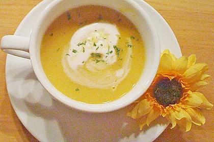 Fruchtige Kürbis - Mango - Suppe 5