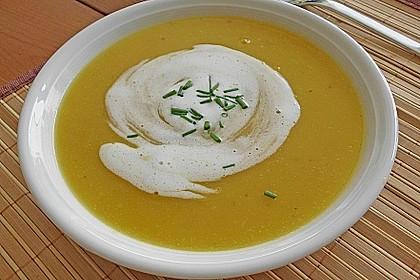 Fruchtige Kürbis - Mango - Suppe 0