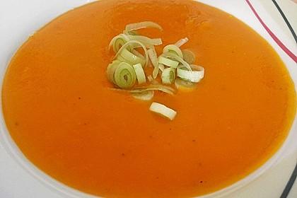 Fruchtige Kürbis - Mango - Suppe 1