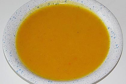 Fruchtige Kürbis - Mango - Suppe 7