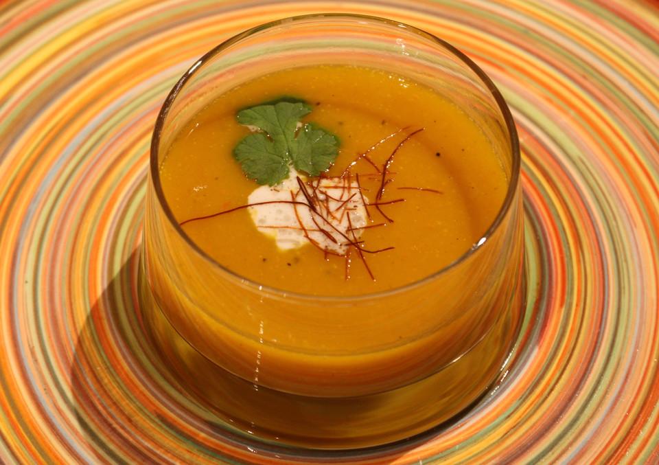 fruchtige kürbis - mango - suppe (rezept mit bild) | chefkoch.de - Kürbissuppe Rezept Chefkoch