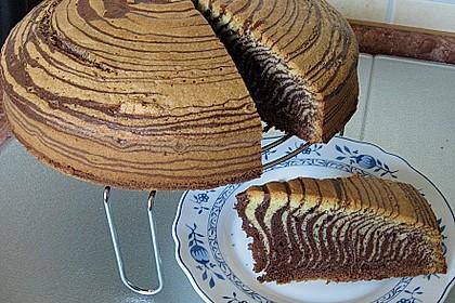 Zebrakuchen 2