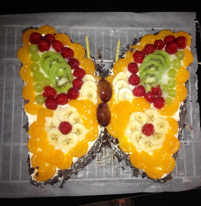 Schmetterlings Torte Von Sivi Chefkoch De