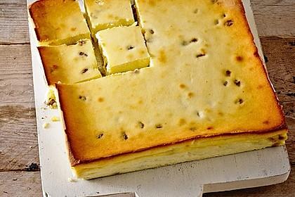 Käsekuchen ohne Boden für Faule