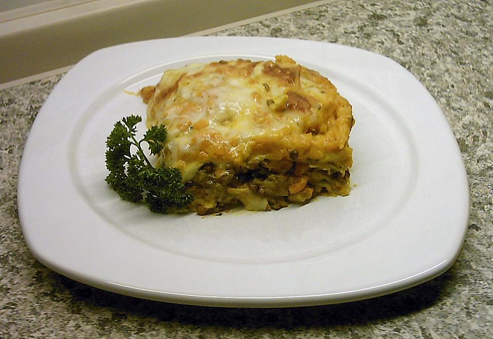 lasagne mit lauch champignons und linsen rezepte suchen. Black Bedroom Furniture Sets. Home Design Ideas