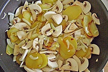 Champignon - Kartoffelpfanne 14