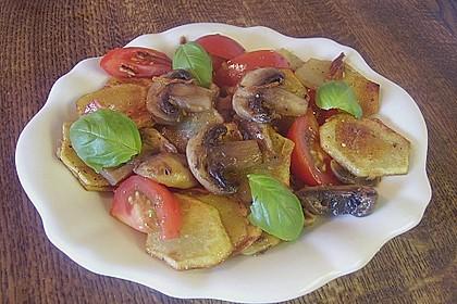 Champignon - Kartoffelpfanne 3