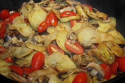Champignon - Kartoffelpfanne 5