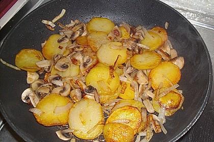 Champignon - Kartoffelpfanne 8