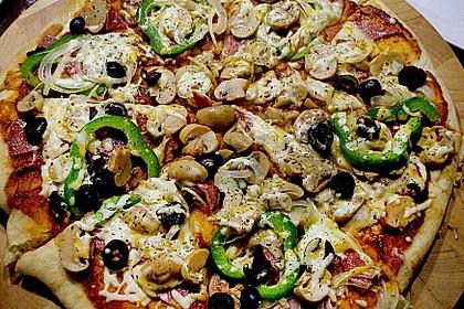 Pfannen - Pizza 2