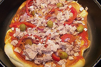 Pfannen - Pizza 54