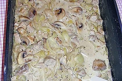 Rahm - Geschnetzeltes mit Pilzen 6
