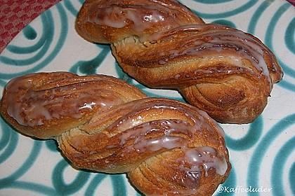Marzipan - Hefe - Zöpfe