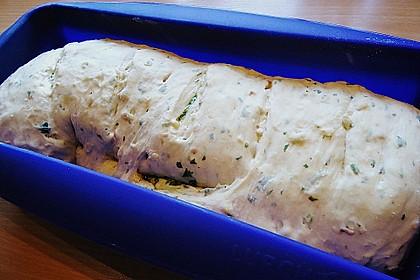Rucola - Knoblauch - Brot 3
