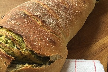 Rucola - Knoblauch - Brot 1