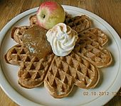 Apfel - Zimt - Waffeln (Bild)