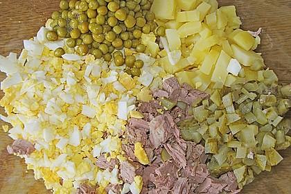 Festlicher Fleisch - Kartoffel - Salat 2