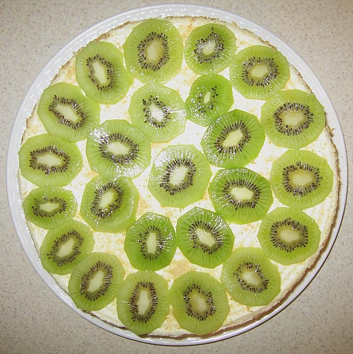 Kiwi kuchen ohne backen