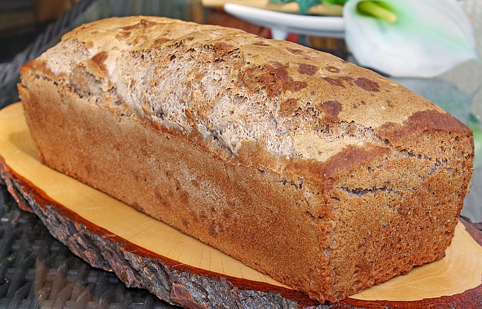 Dinkelbrot backen mit hefe