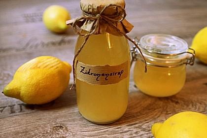 Chrissis Zitronensirup – Grundstoff für Zitronenlimonade 1
