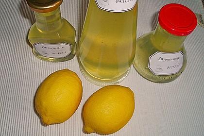 Chrissis Zitronensirup – Grundstoff für Zitronenlimonade 15