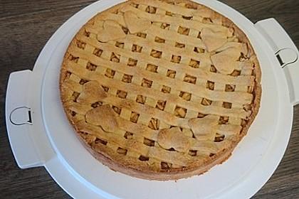 Gedeckter Apfelkuchen 6
