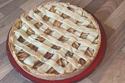 Gedeckter Apfelkuchen 15