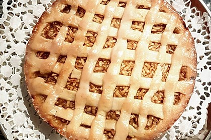 Gedeckter Apfelkuchen 7