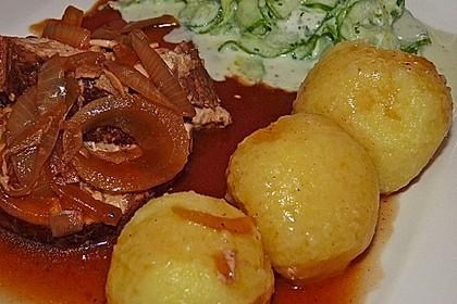 Schlesische Kartoffelklöße 8