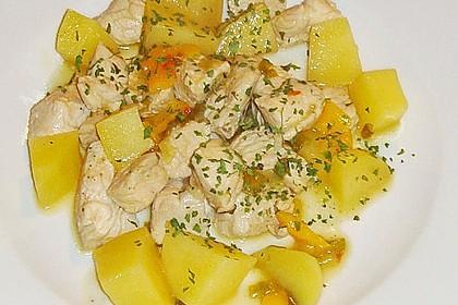Hähnchenbrustgeschnetzeltes mit Paprika und Brokkoli aus dem Wok 18