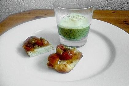 Zucchinikaviar mit Parmesancreme 25