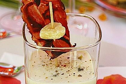 Zucchinikaviar mit Parmesancreme 1