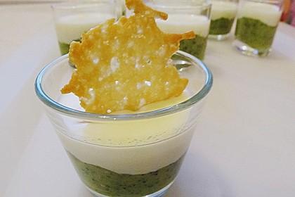Zucchinikaviar mit Parmesancreme 6