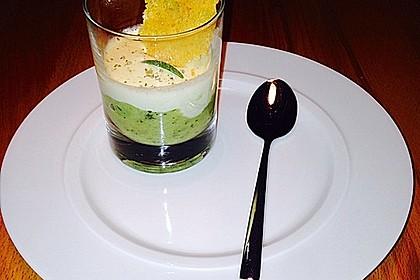 Zucchinikaviar mit Parmesancreme 3